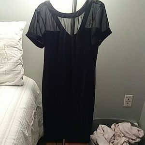 Classic black dress never worn but took tag off